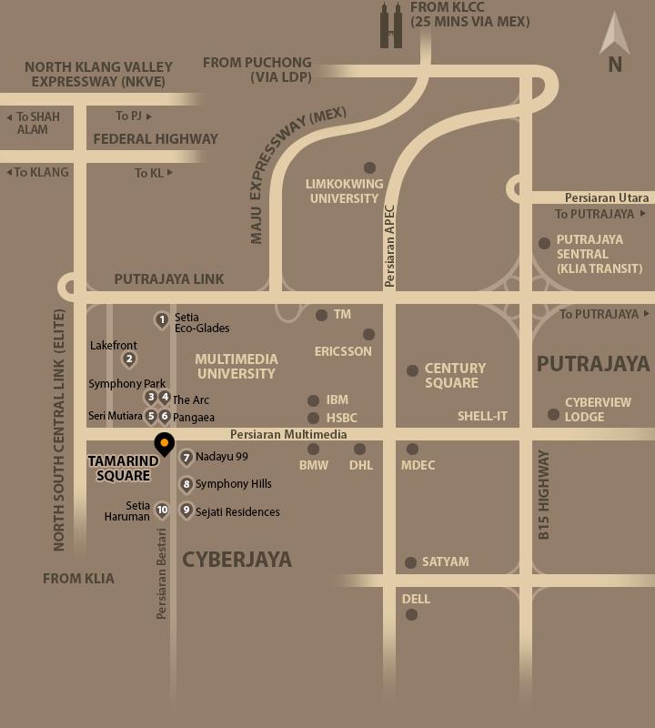 location-tamarind-square-shop-office-cyberjaya
