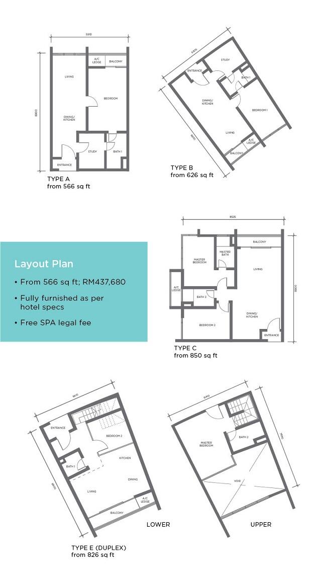i-suite-floor-plan_Shah-Alam_Residence