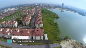 Aurora-Puchong-freehold-condo-lakeside-city-view