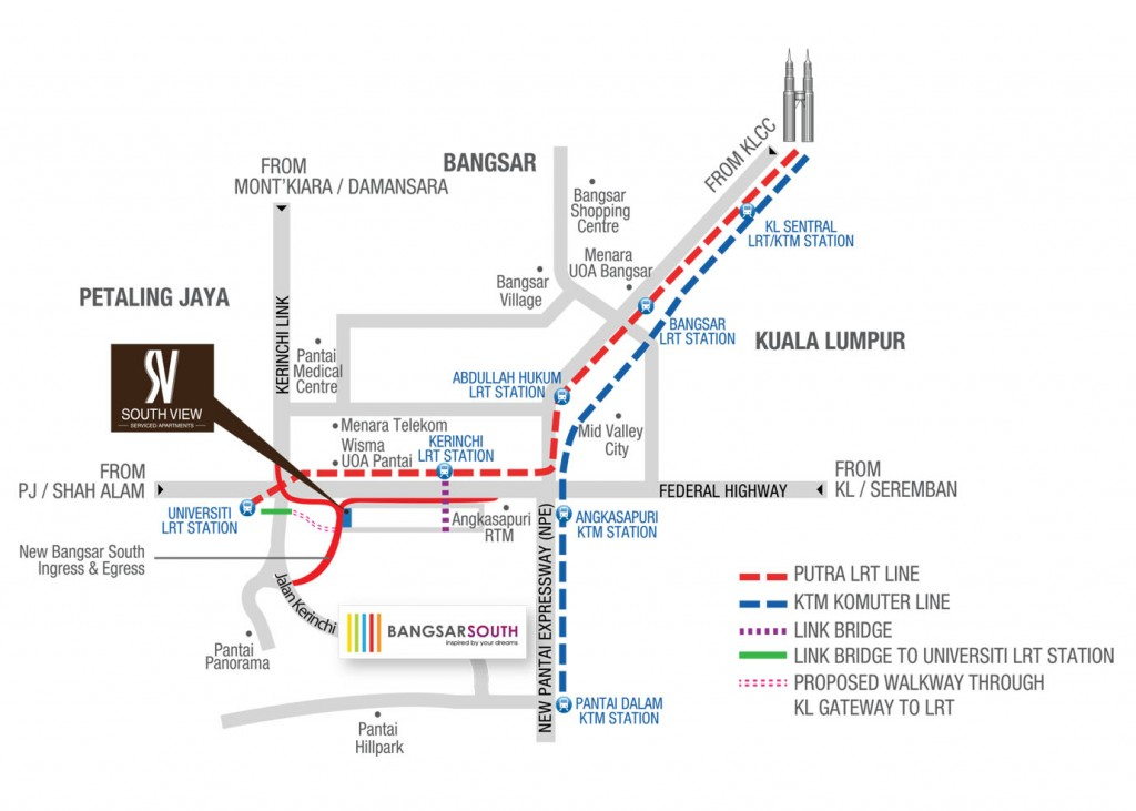 south_view_serviced_apartment-Banagsar_location_map