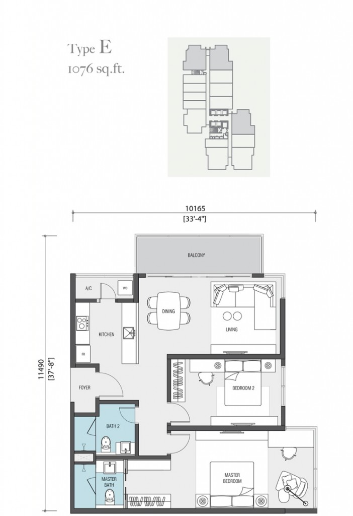 1076-square-feet-apartment-nadi-bangsar-serviced-residence