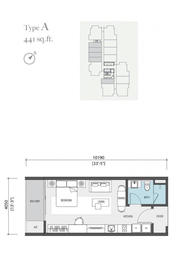 441-square-feet-apartment-nadi-bangsar-serviced-residence