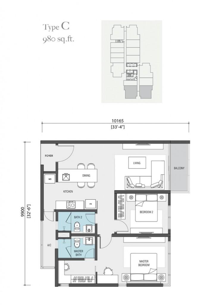 980-square-feet-apartment-nadi-bangsar-serviced-residence