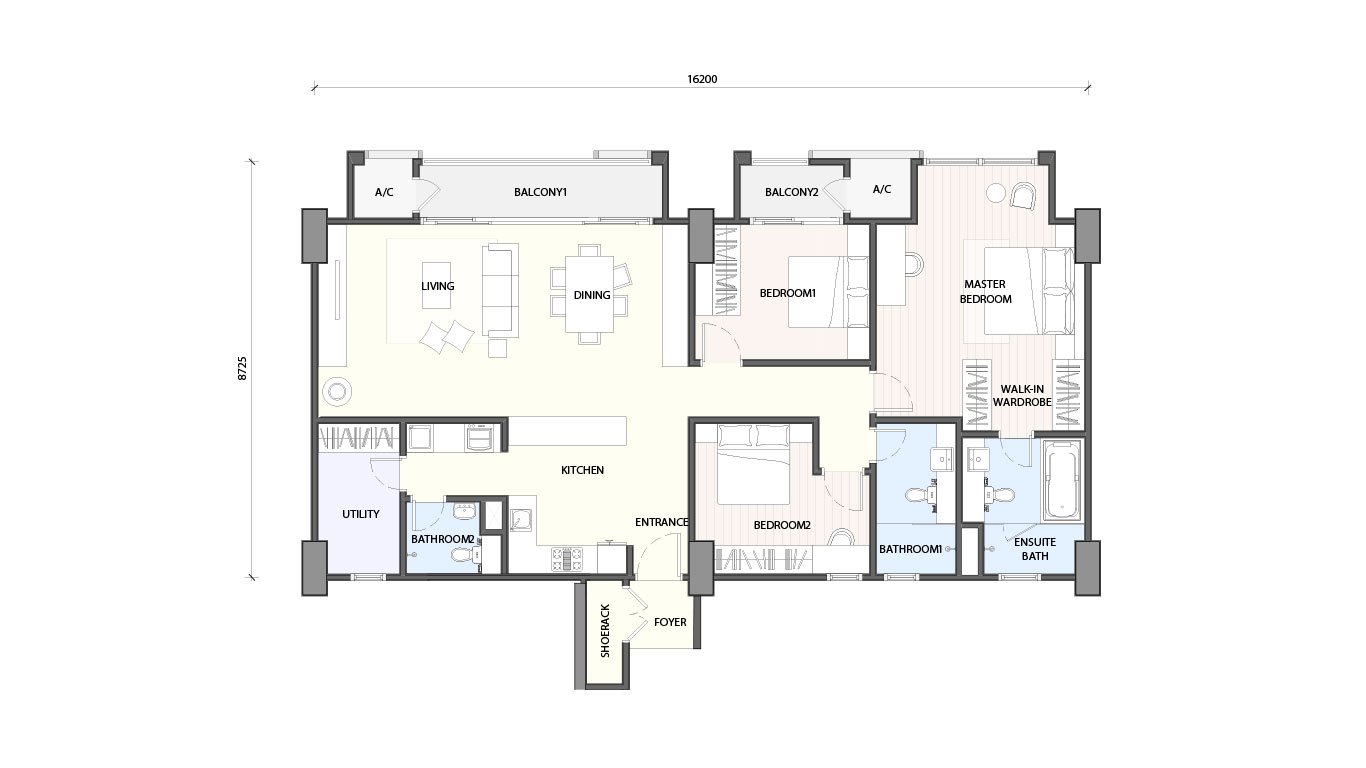 Radia Residence Freehold Serviced Apartment Bukit Jelutong