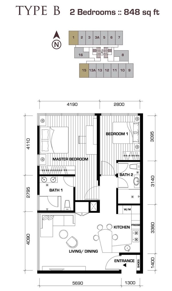 Novo-Ampang-848sqft-apartment-Kuala-Lumpur
