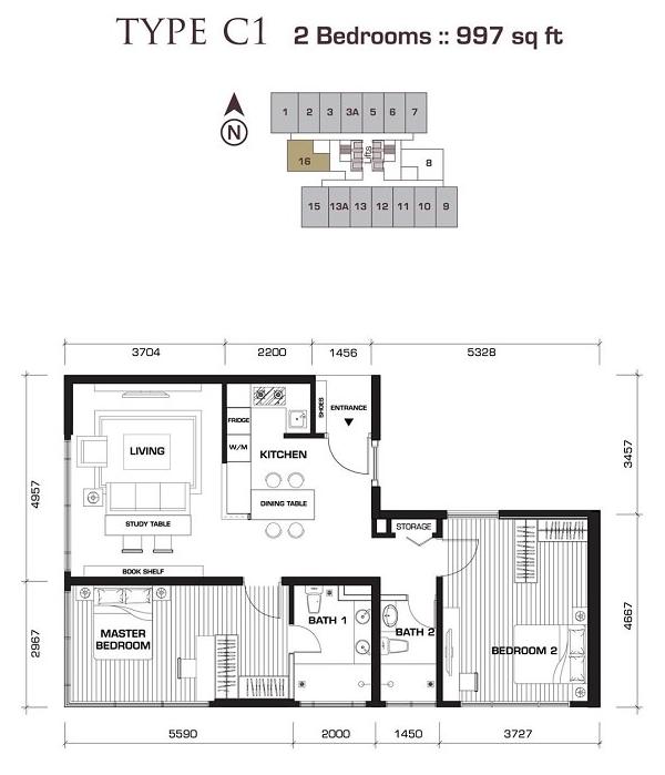 Novo-Ampang-997sqft-apartment-Kuala-Lumpur