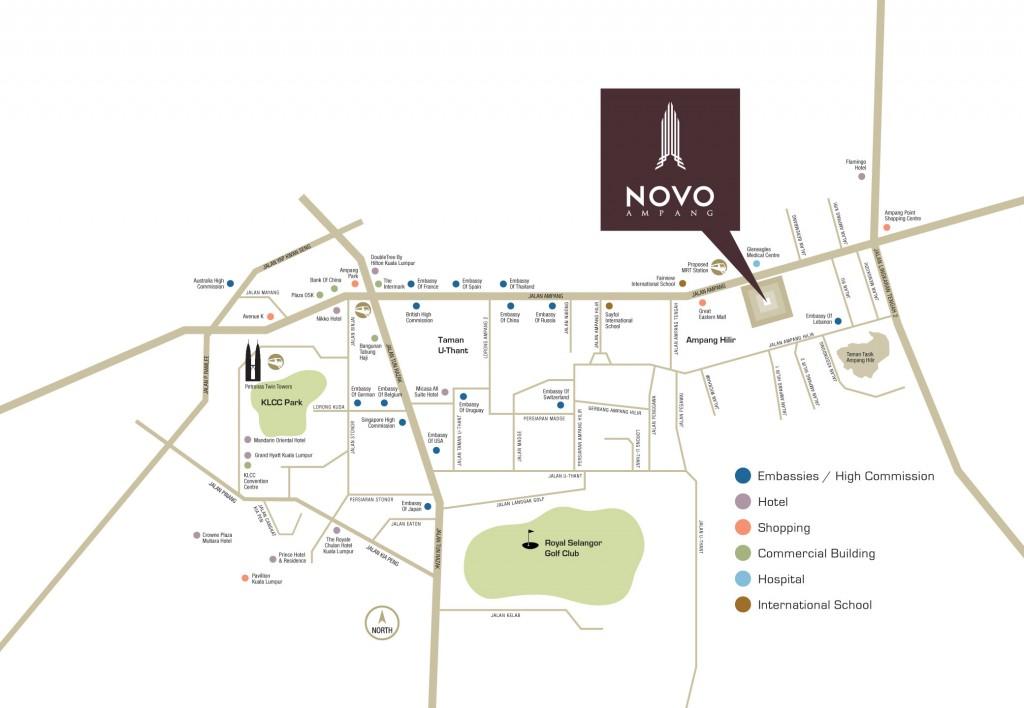 location-nova-ampang-designer-suites--jalan-ampang