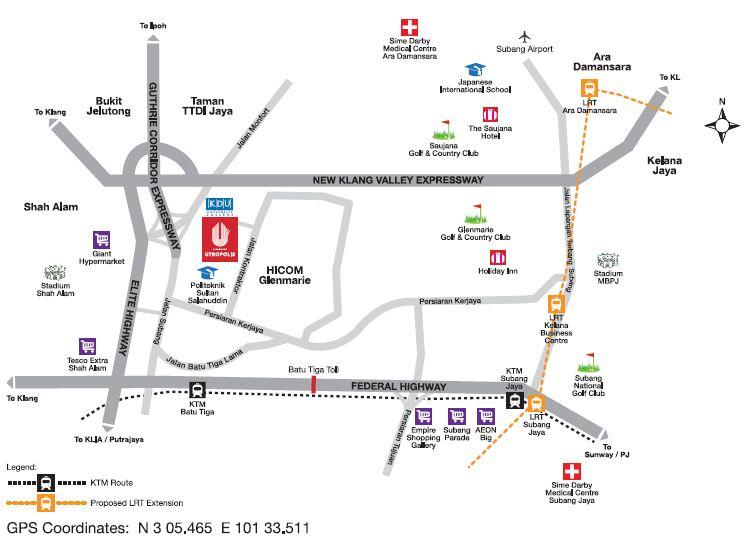 location-map-paramount-utropolis-development-glenmarie-shah-alam