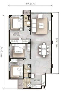 The-Resident-1271-sq-ft-apartment-Type-A