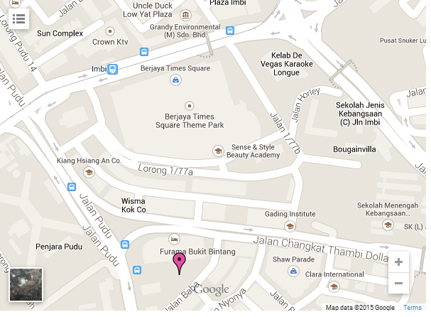 m101-bukit-bintang-sofo-location