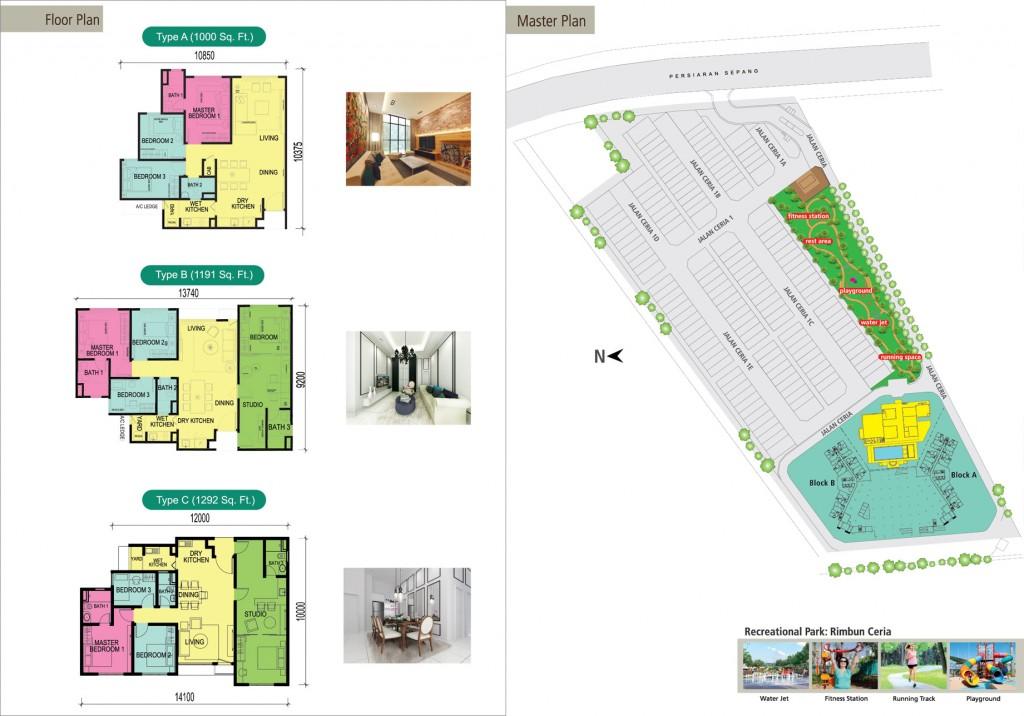 Ceria-Condominium-Cyberjaya-floor-plan