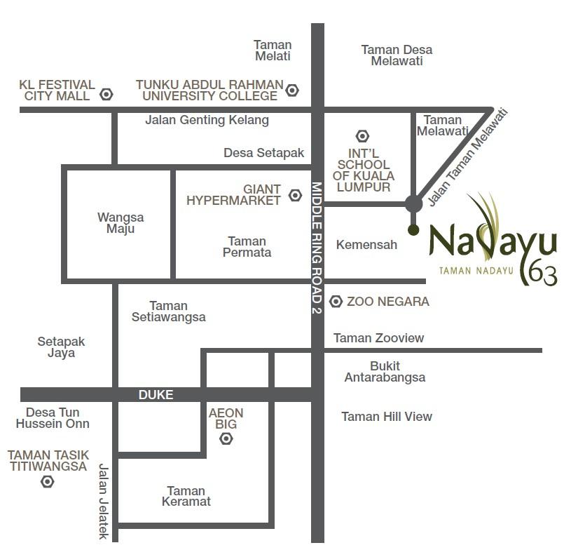 location-map-Nadayu 63-Taman-Nadayu-Melawati