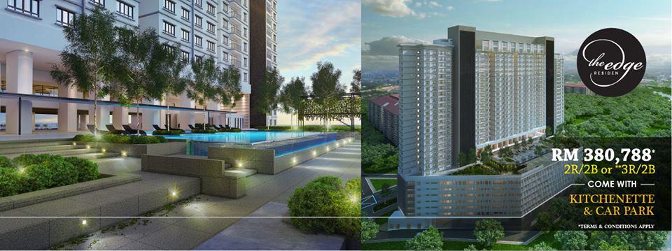 USJ1-Subang-Jaya-The Edge-Residen-condominium