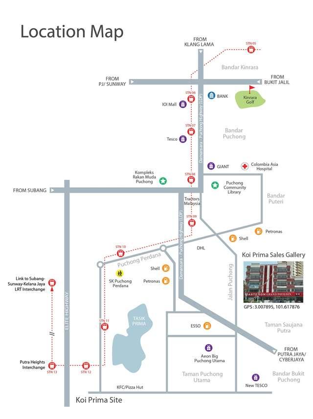 location-map-Koi_Prima-Condominium-Puchong