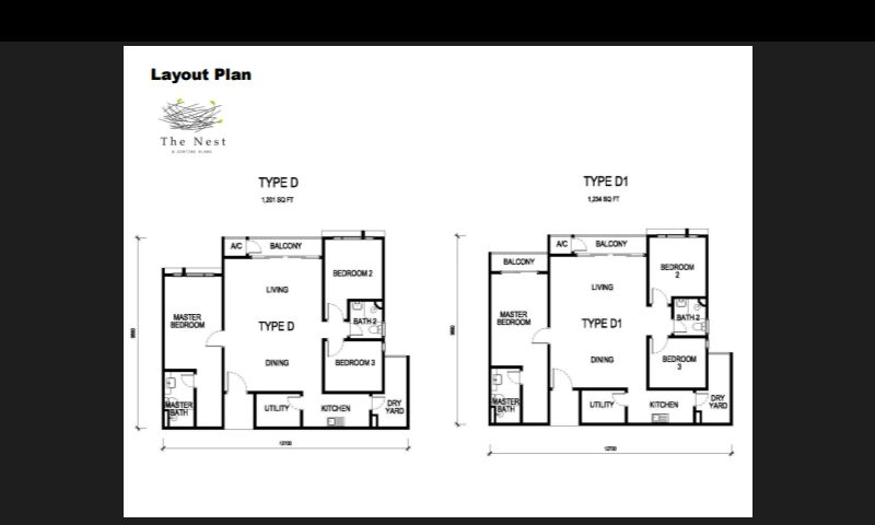 1,201 sq ft-Serviced-Apartment