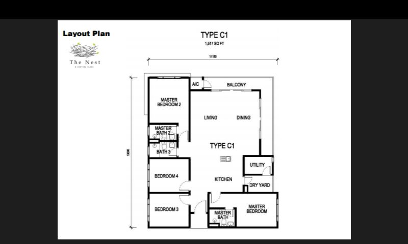 1,507 sq ft-Serviced-Apartment