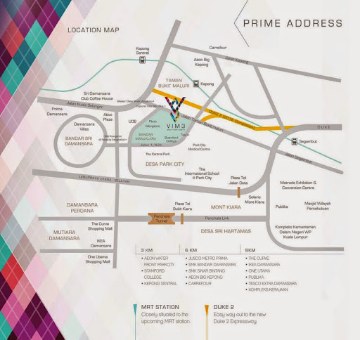 Location-Map-VIM-3-Serviced-Residence-Kepong