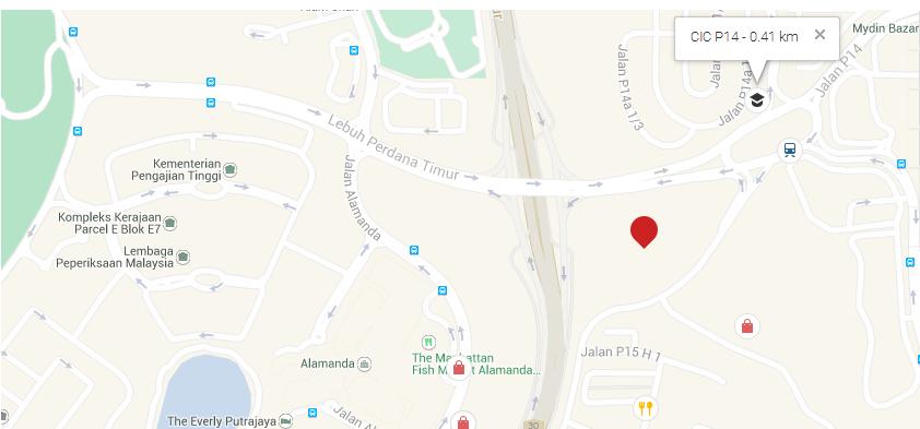location-dwiputra-residences-Putrajaya