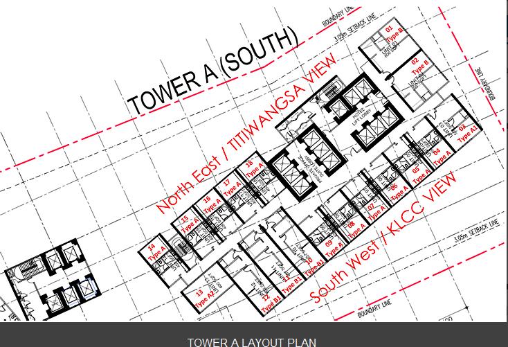 M101-Skywheel-Tower A-Layout Plan