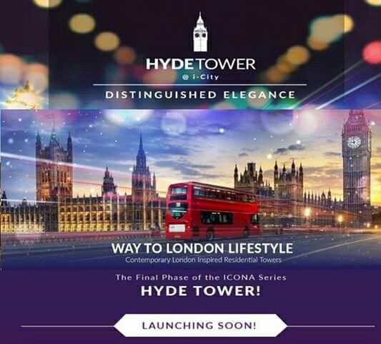 HydeTower-i city-Shah Alam-SOHO