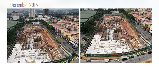 High Park-Suites-Site Progress-Kelana Jaya