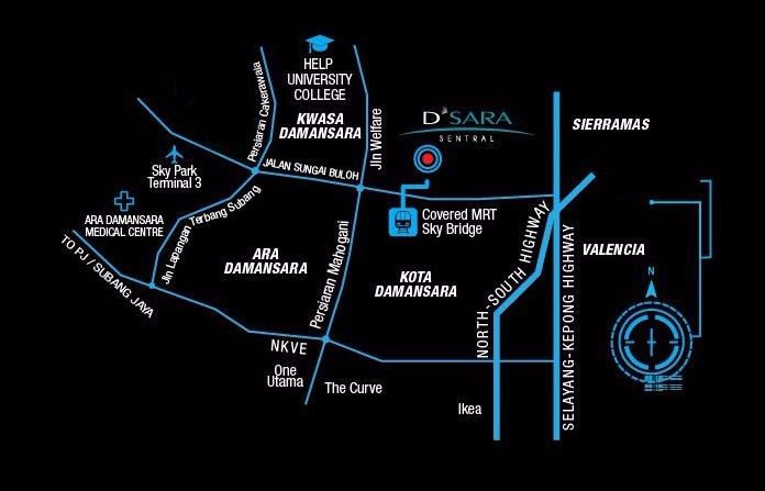 D'sara-Sentral-Location-Sungai-Buluh