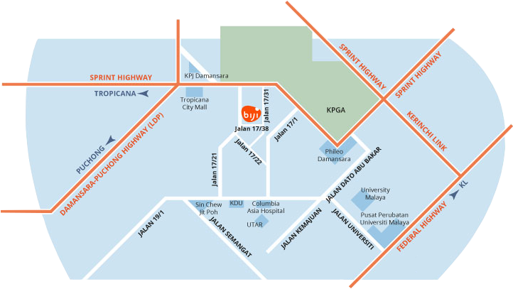 Biji-Serviced-Apartment-Location-Map