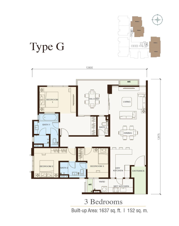 Irama-Wangsa-Condominium-Type G-1,637 sq.ft.-3 bedrooms