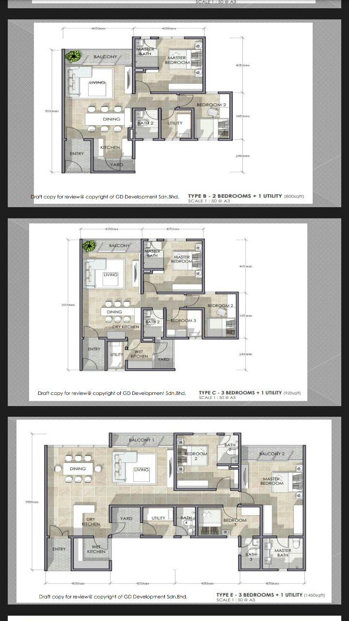 Residensi-Lili-Condominium-Unit-Layout