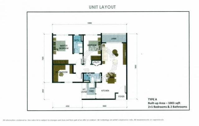 The Haute-Condo-Type A-1003 sq.ft.