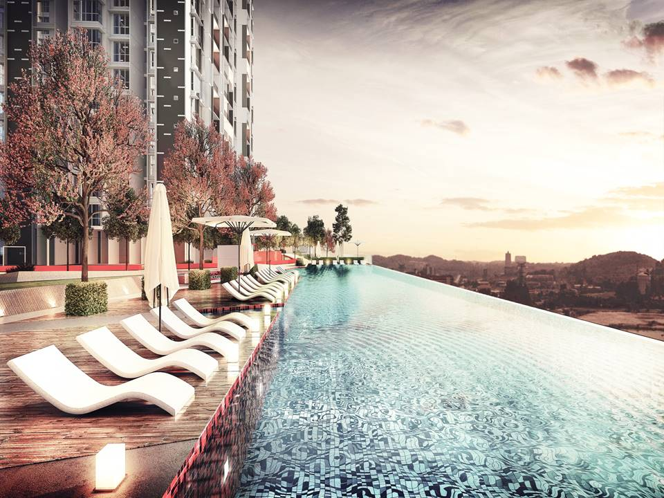astetica-residences-pool-view