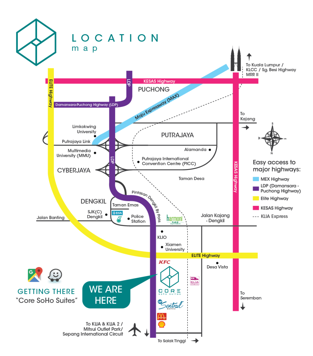 core-soho-suites-location-map-sepang