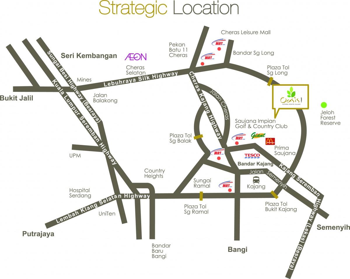 location-map-oasis-mutiara-heights-kajang