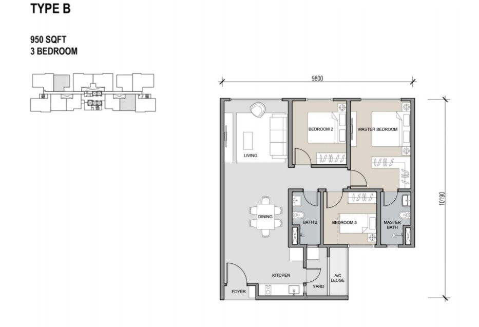 Residensi Ava Floor Plans New Property Launch Kl